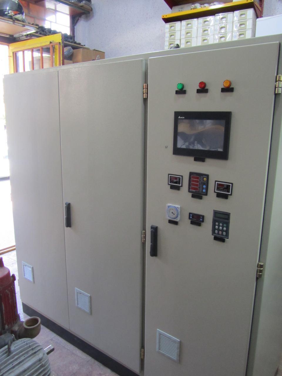 طراحی و ساخت انواع تابلوهای برق و اتوماسیون